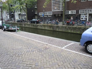 Canal-side parallel parking..if you dare!