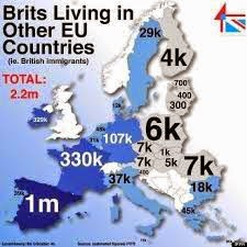 British expats living in other EU countries