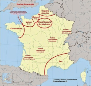 France according to the Normans