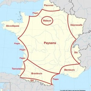 France according to the Parisians