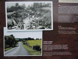 La Couloir de la Mort then and now.