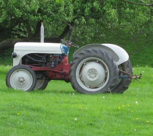 How tractors used to be...before EU subsidies!