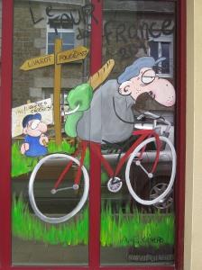 Tour de France shopfront