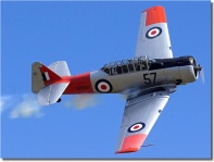 Harvard out of Ardmore Airport, Auckland