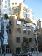 Frank Gehrey-designed building at UTS, Sydney.