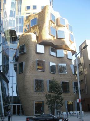 Frank Gehrey-designed building at UTS, Sydney.
