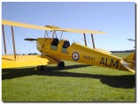 Tiger Moth at Ardmore Airport, Auckland