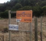 Call it what it is; it's not a septic tank it's a poo tank!