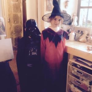 Halloween Ewen and Elsa