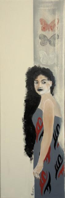 Maori Woman Study #4
